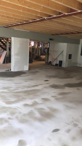 Uitbouw Winkel Vloer