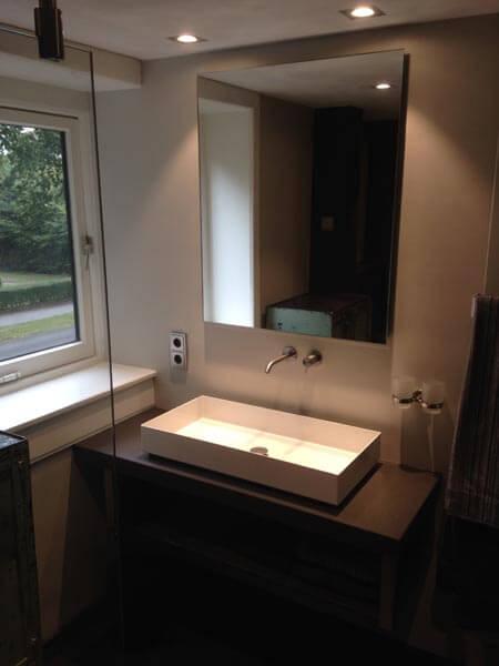 Badkamer Verbouwen Wastafel