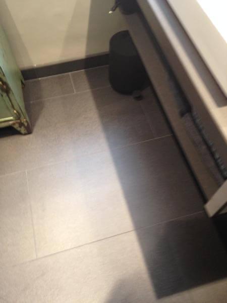 Badkamer Verbouwing Vloer